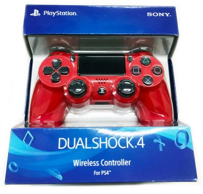 Official Sony PlayStation 4 PS4 Dualshock 4 Wireless Controller Magma Red | eBay