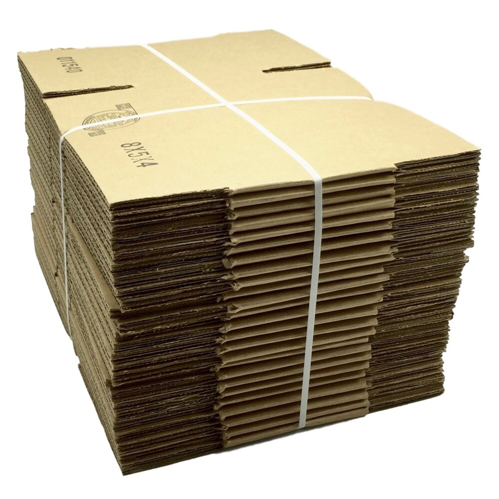 25 8x5x4 Corrugated Shipping Boxes That Fit Into Usps