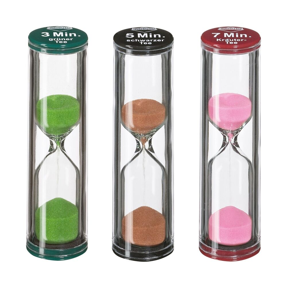 Küchenprofi Thermometer Digital Kuchenprofi Sand Tea Timer Set Of 3 887670512688 Ebay