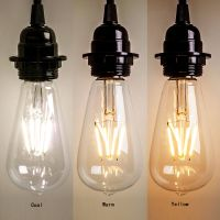 Vintage E27 Edison Bulb LED Lamp Retro Filament COB Light ...