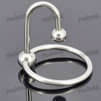 High Quality Men's Stainless Steel Penis Ring Glans Plug ...