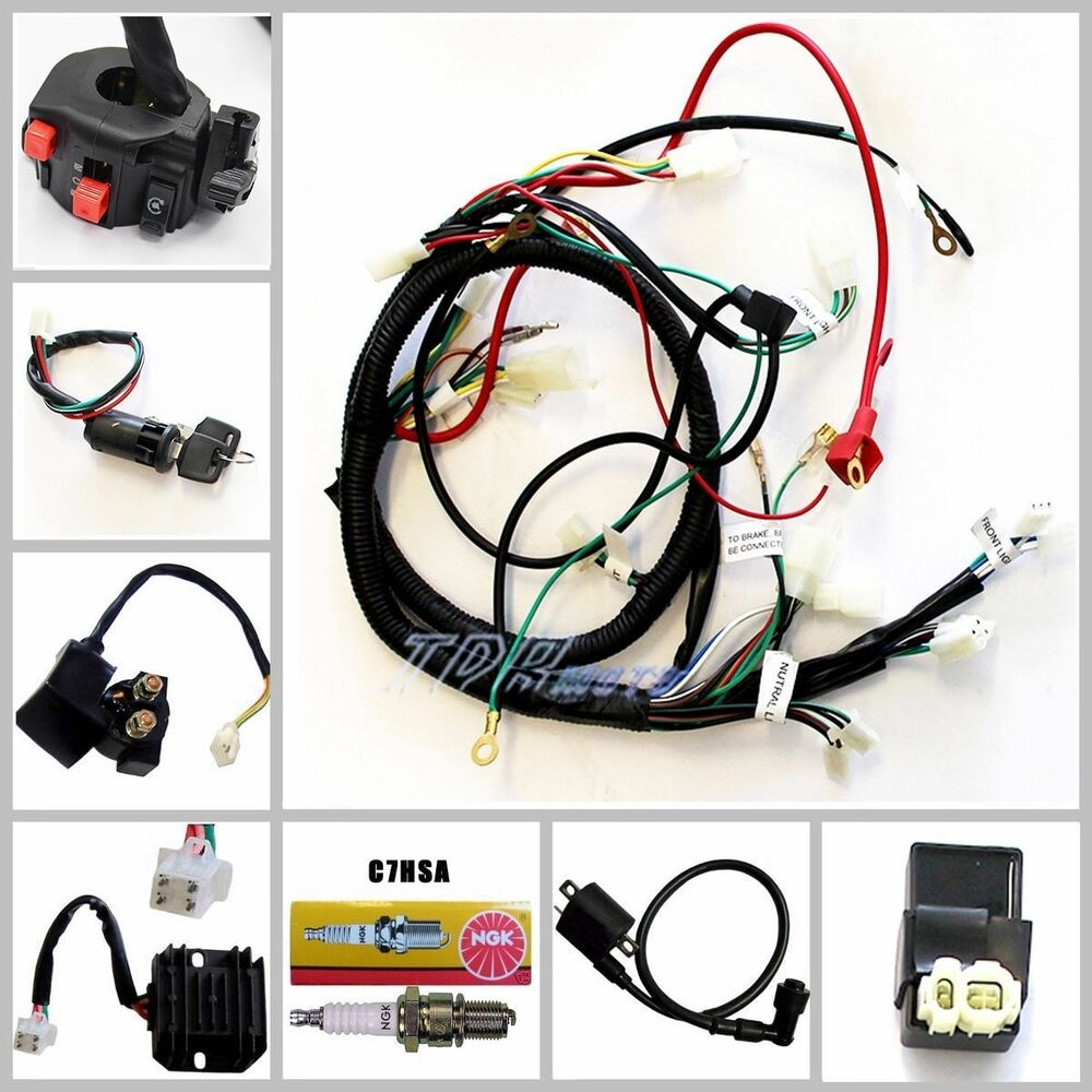 gy6 150 wiring harness