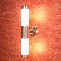 Contemporary LED Wall Light Lamp Stainless Steel Outdoor ...