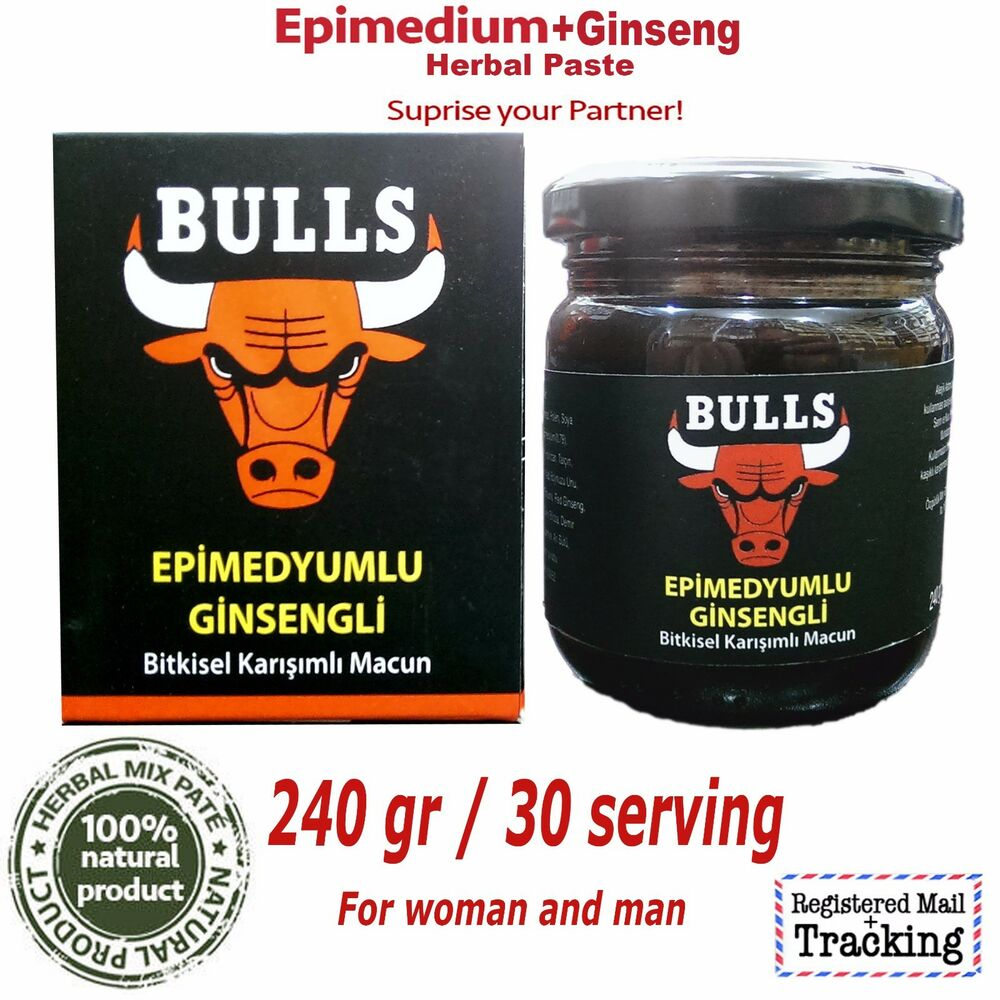 Ginseng In Deutschland Bulls Epimedium Ginseng Herbal Paste 100 Natural Aphrodisiac Erection Delay Ebay