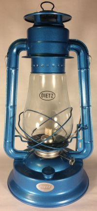 NEW BLUE DIETZ #80 BLIZZARD OIL KEROSENE LANTERN LAMP 12 ...