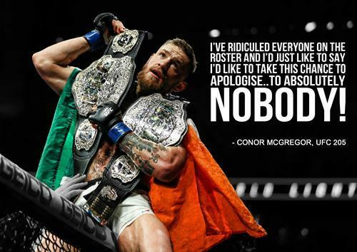 Connor Mcgregor Quote Wallpaper Conor Mcgregor Quote Ufc 205 Mma Wall Art Print Photo