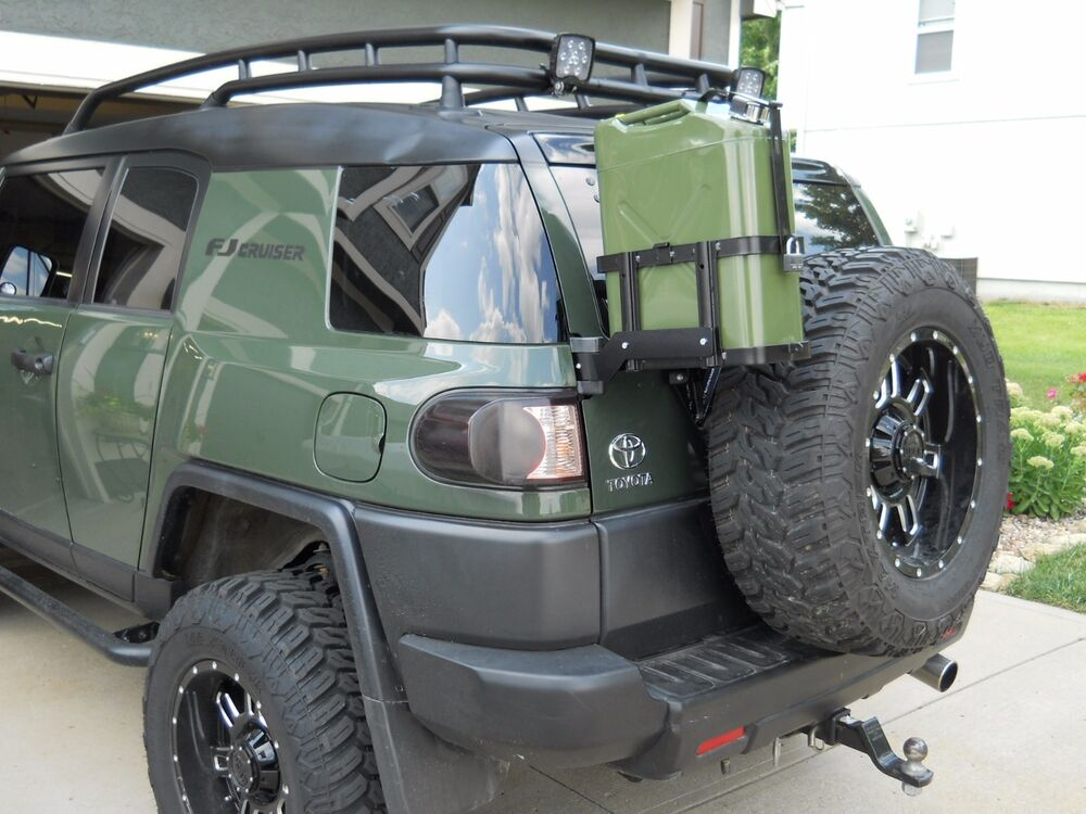 Jm1 Jerry Gas Can Mount For Toyota Fj Cruiser All Years