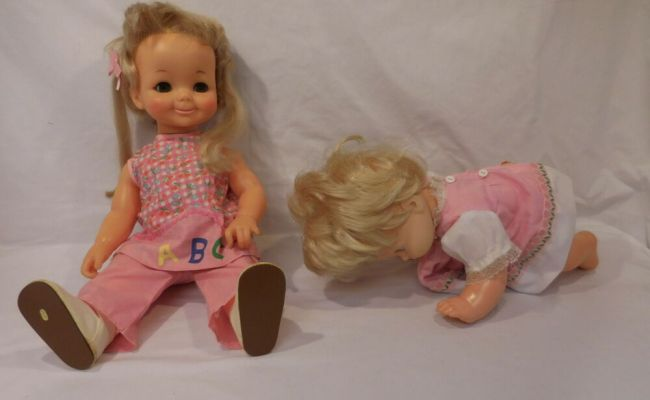 Busy Lizzy Doll Ideal 18 1971 Baby That A Way Mattel