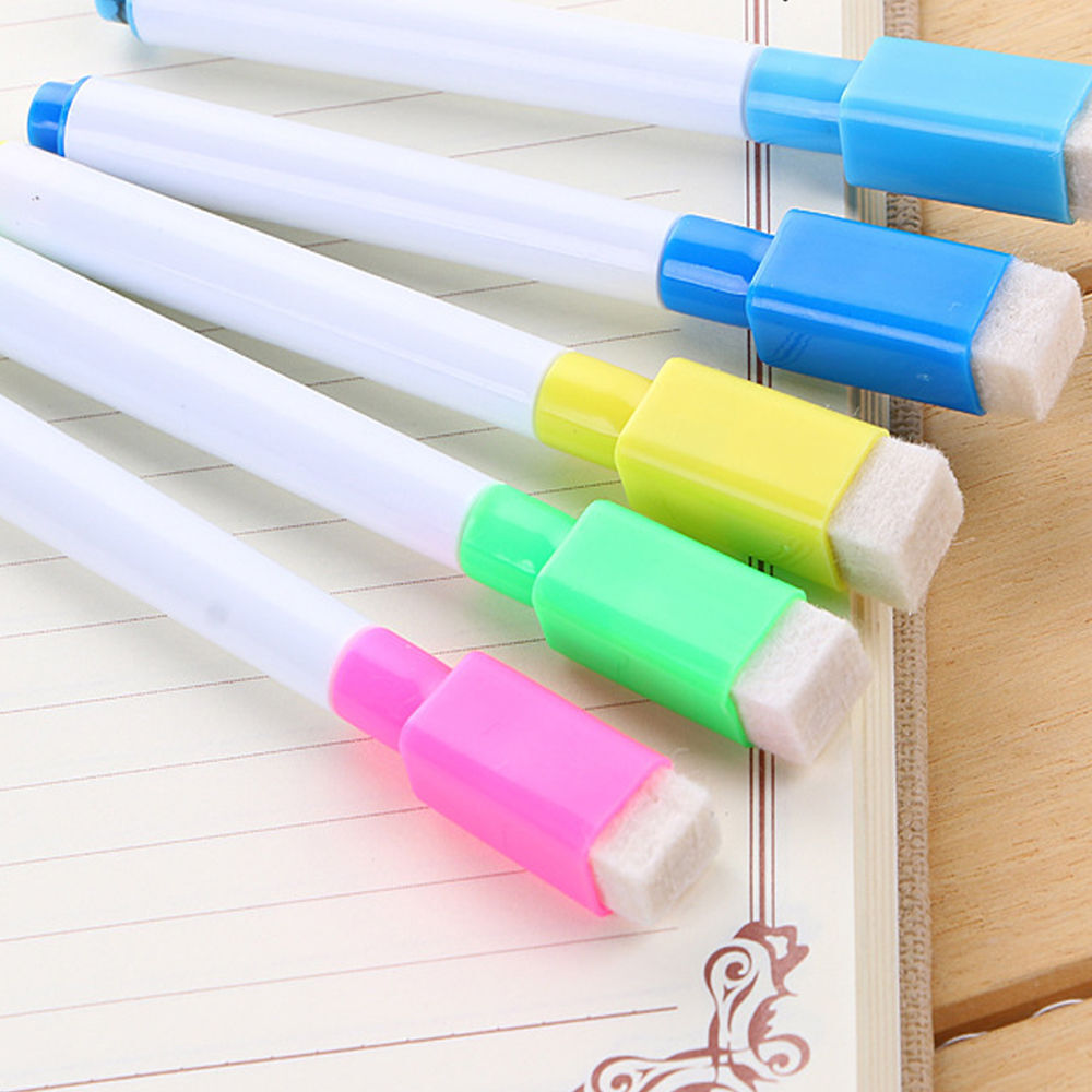 Random 5 10pc Whiteboard Marker Dry Erase Pen Colors White Board Office Fine Tip Ebay - White Board