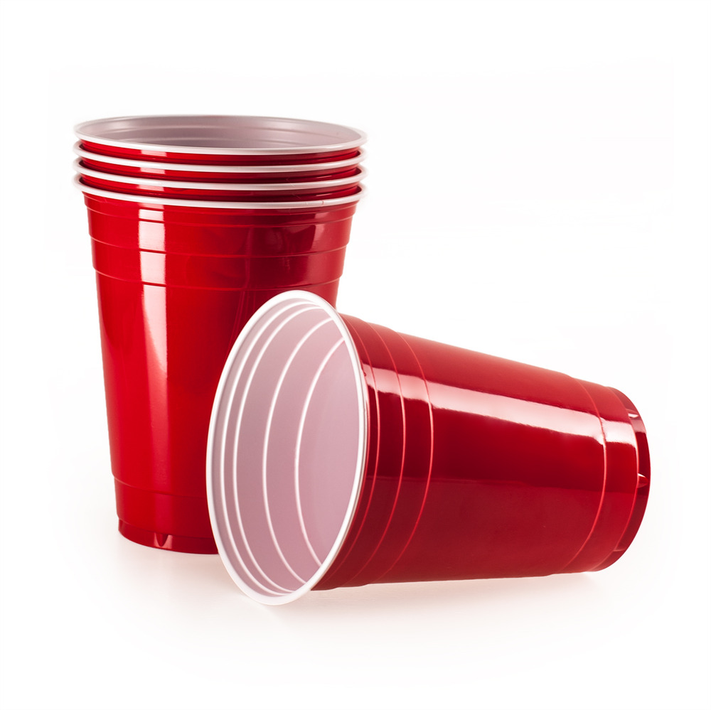 Rote Plastikbecher Rote Party Becher Partybecher Trinkbecher Plastikbecher Beer Pong Red Cups Ebay
