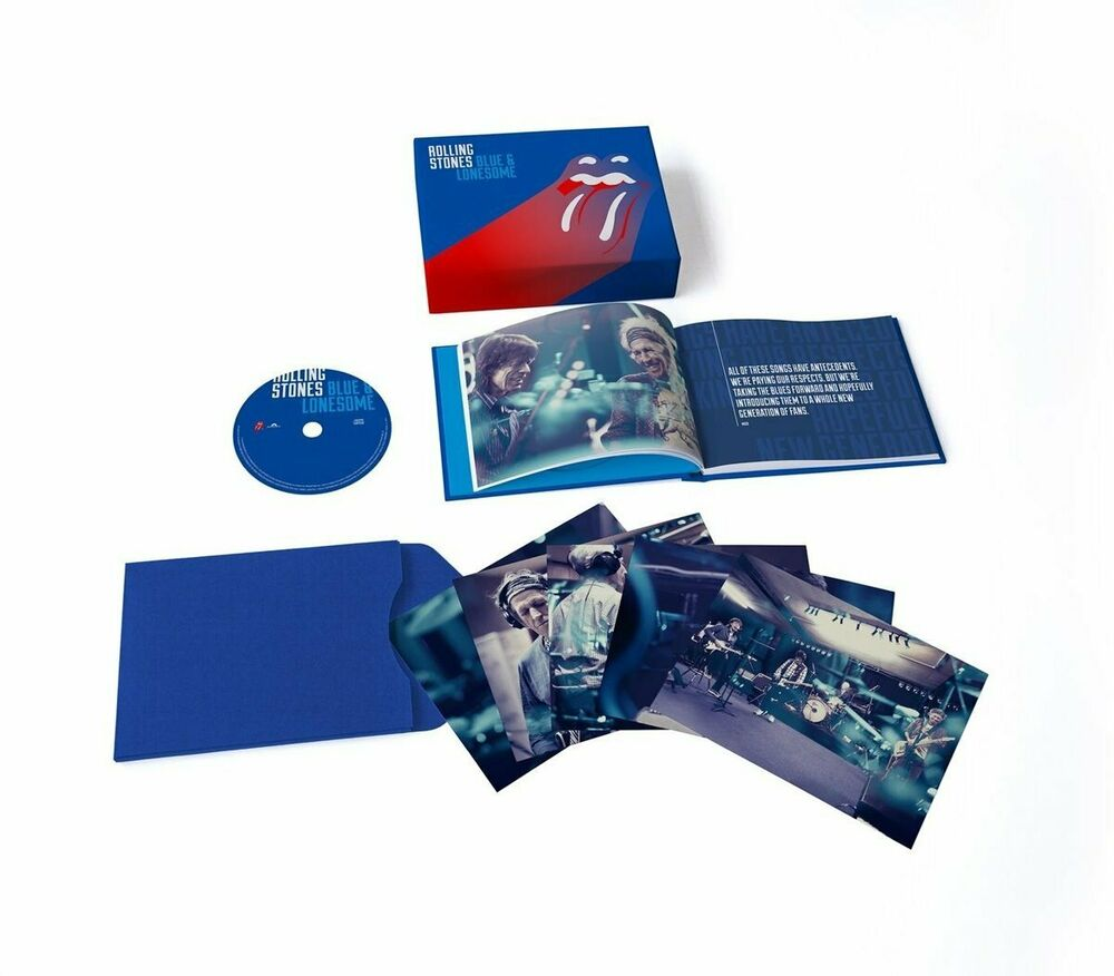 Formano Online Shop The Rolling Stones Blue And Lonesome Deluxe Box Set Cd New Ebay