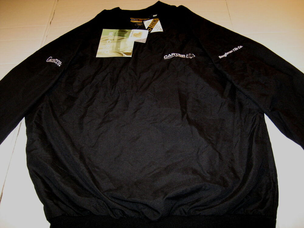 CARTER LUMBER The Yard - Embroidered Black Pullover JACKET New! NWT