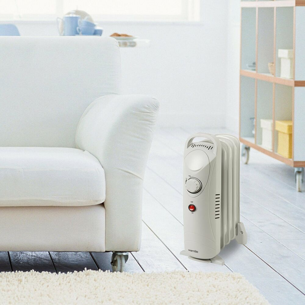 Wattage Radiator Small Low Wattage Power Radiator Portable Heater Home Mains Electric 800w 240v Ebay