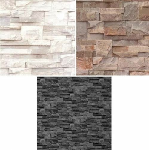 3d Effect Wallpaper For Living Room New Luxury Muriva Slate Stone Brick Wall Effect Textured