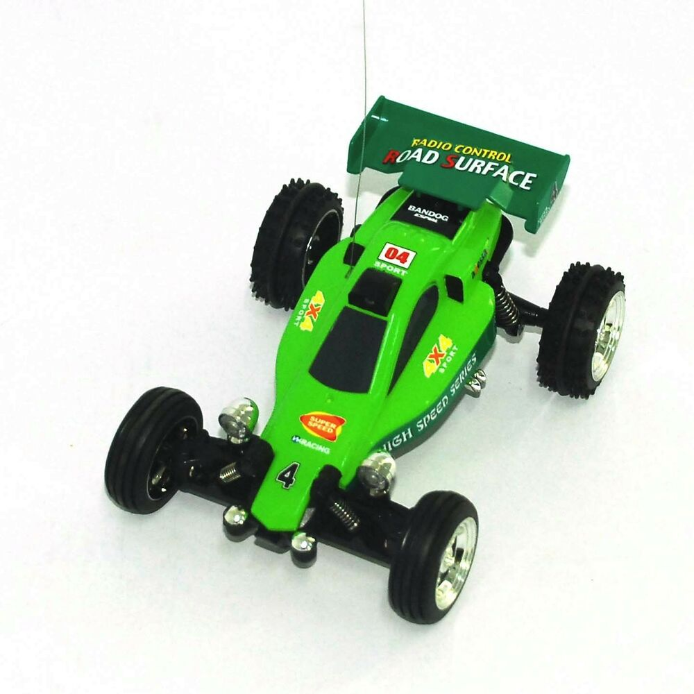 Toy Buggy Ebay 1 52 Remote Control Car Mini Rc Kart Racing Buggy Green