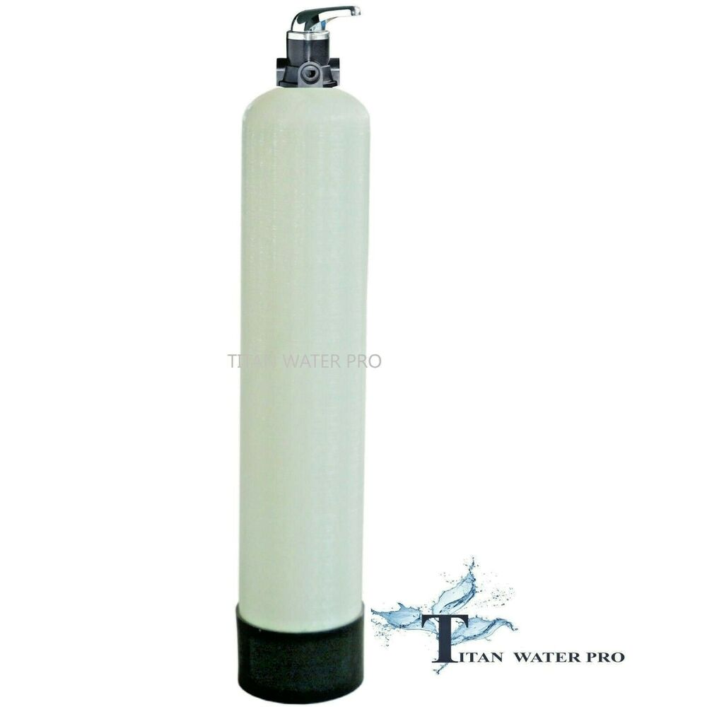 Carbon Water Filter System Whole House Water Filter System Gac Carbon 2 Cu Ft Manual Backwash 1252 Tank Ebay