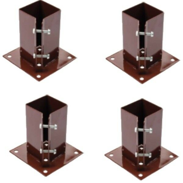 4 X 100 Mm 4quot Bolt Down Bolt Grip Fence Post Support Like