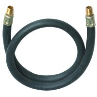 Lead-In Rubber Air Hose 3 ft. x 3/8 in. Air Tool ...