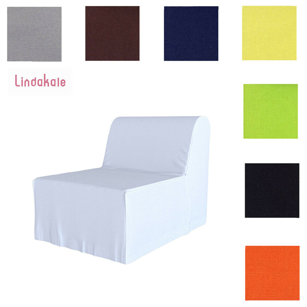 Ikea Lycksele Sofa Bed Custom Made Cover Fits Ikea Lycksele Chair Bed, Replace