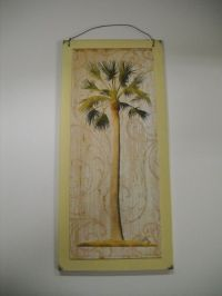 Palm Tree Tropical Wooden Wall Art Sign wood Beach Decor ...