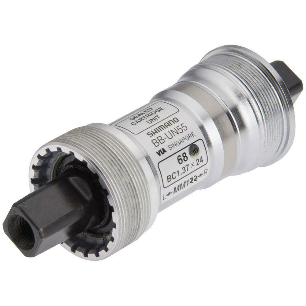 Bb Innenlager Shimano Un55 Shimano Bb-un55 Cycle Bottom Bracket 68 X 122.5 Square