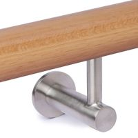 Contemporary Wall Handrail Support - Stainless Steel ...
