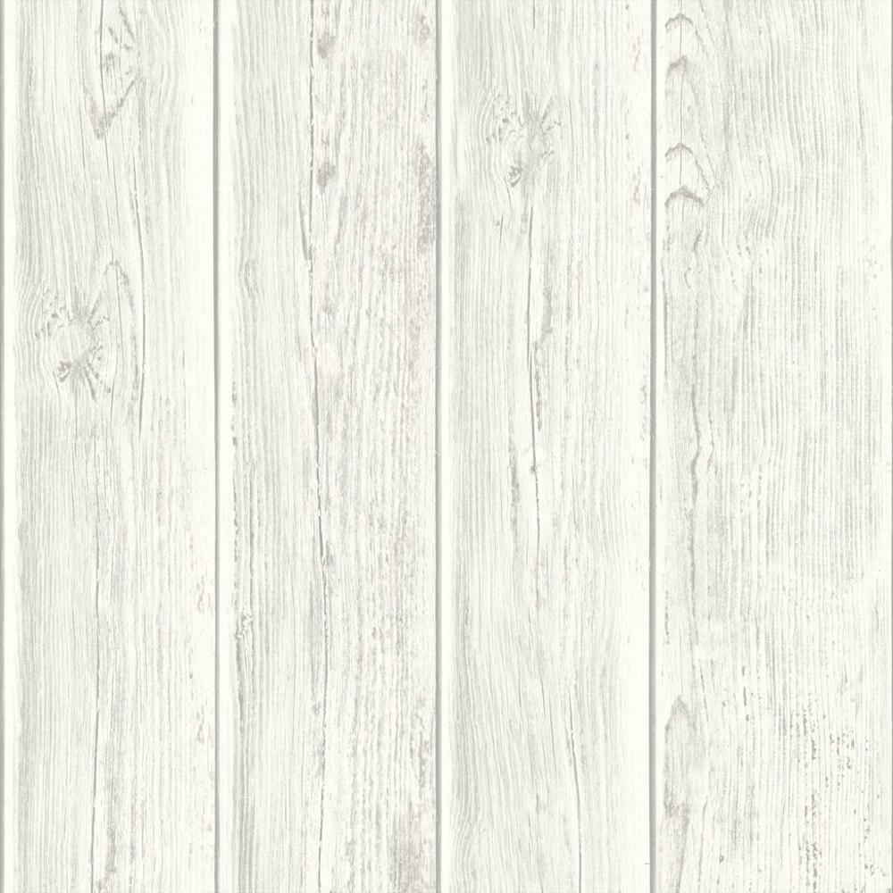 Self Adhesive White Brick 3d Wallpaper Muriva Wood Beam Panel Pattern Wooden Faux Effect Textured
