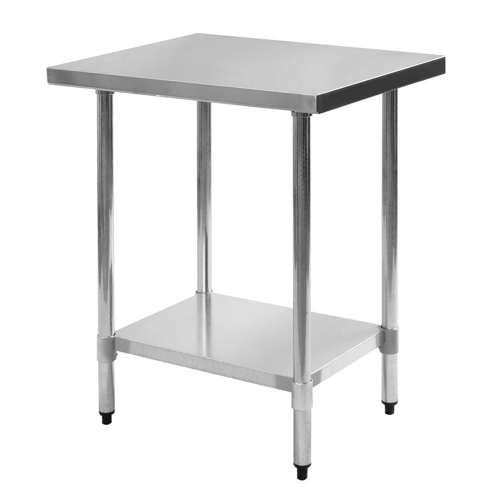 24quot X 30quot Stainless Steel Work Prep Table Commercial