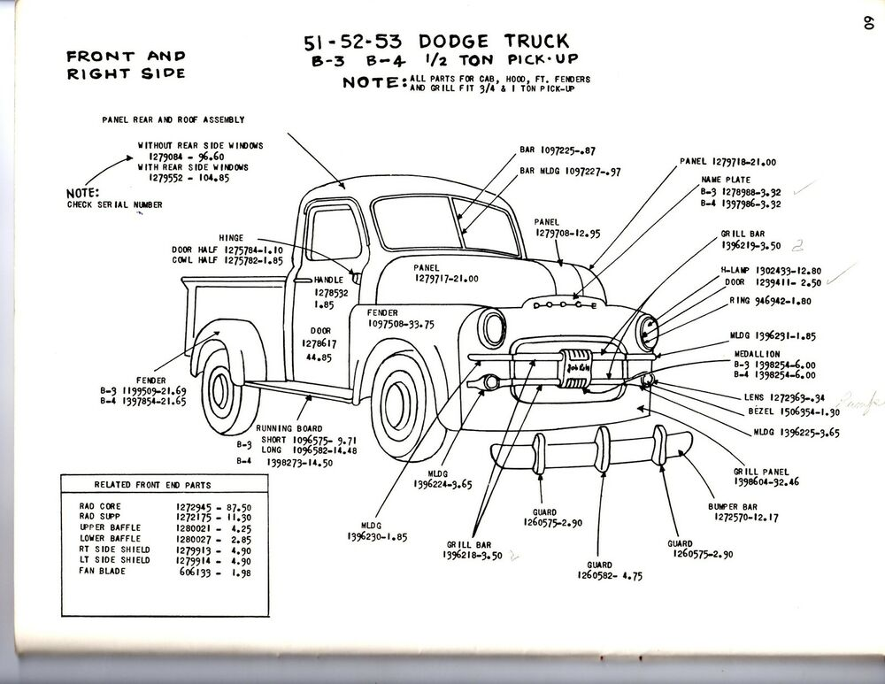 1 and half ton 1949 dodge truck