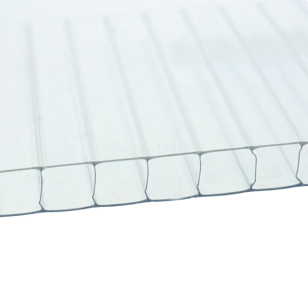 4mm Polycarbonate Sheet For Use In Greenhouses Greenhouse Glazing Clips Ebay - Polycarbonate Sheet