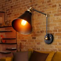 Vintage Retro Industrial Swing Arm Sconce Wall Light Loft ...