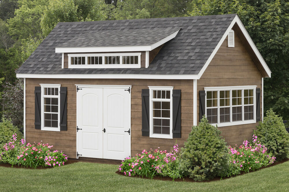 Amish Built 12x20 A Frame Storage Shed Lap Siding With