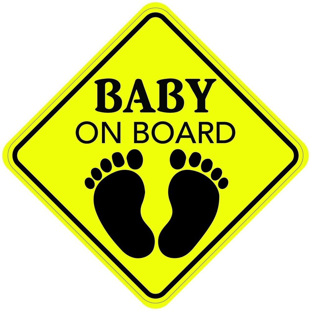 Usa Buy Baby On Board Sticker Decal Child Car Sign Made In Usa Buy 2 Get 3rd Free Ebay
