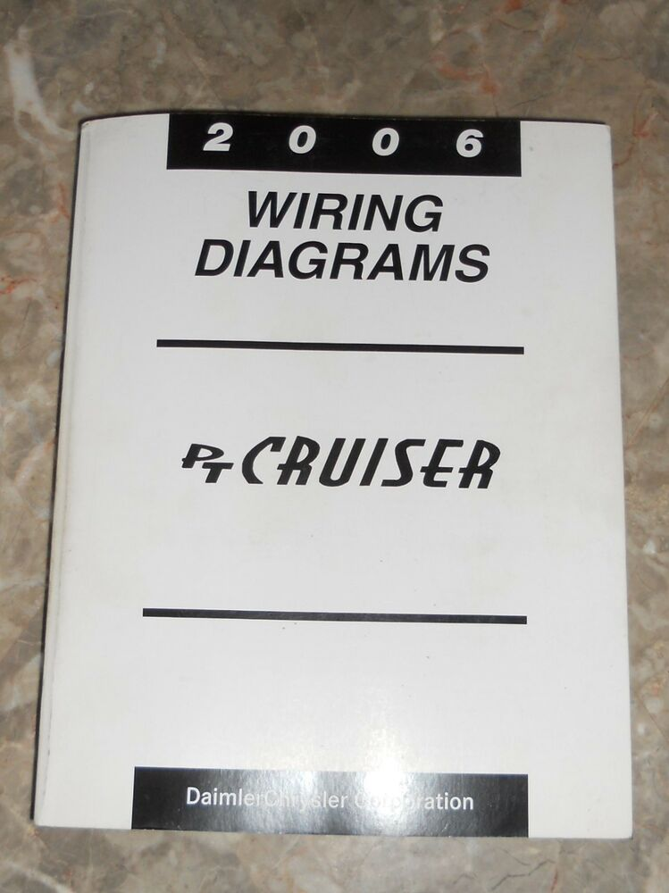 2006 Chrysler PT Cruiser Wiring Diagrams Service Manual USED eBay