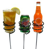 Yard Stake Drink Holder
