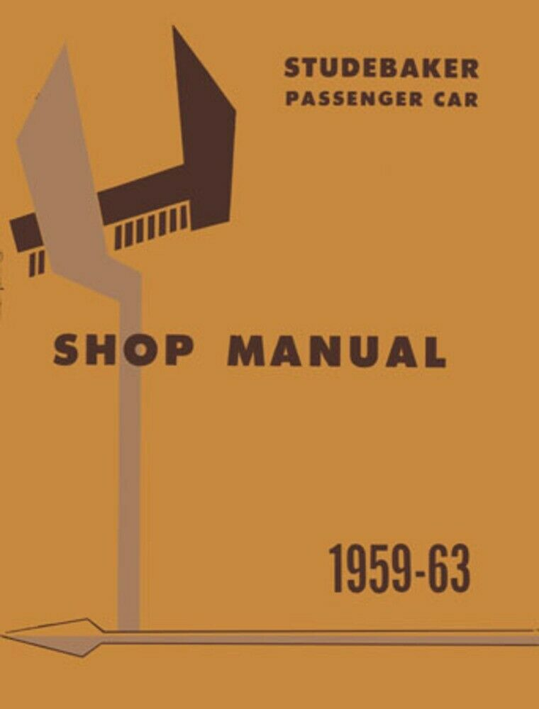 1959-1963 Studebaker Lark Hawk Shop Service Repair Manual Engine