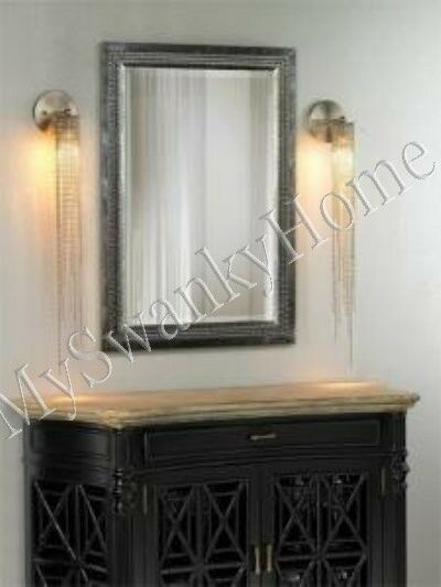 Beveled Bathroom Vanity Mirror Contemporary Large Silver Leaf Wall Mirror Vanity Mantle