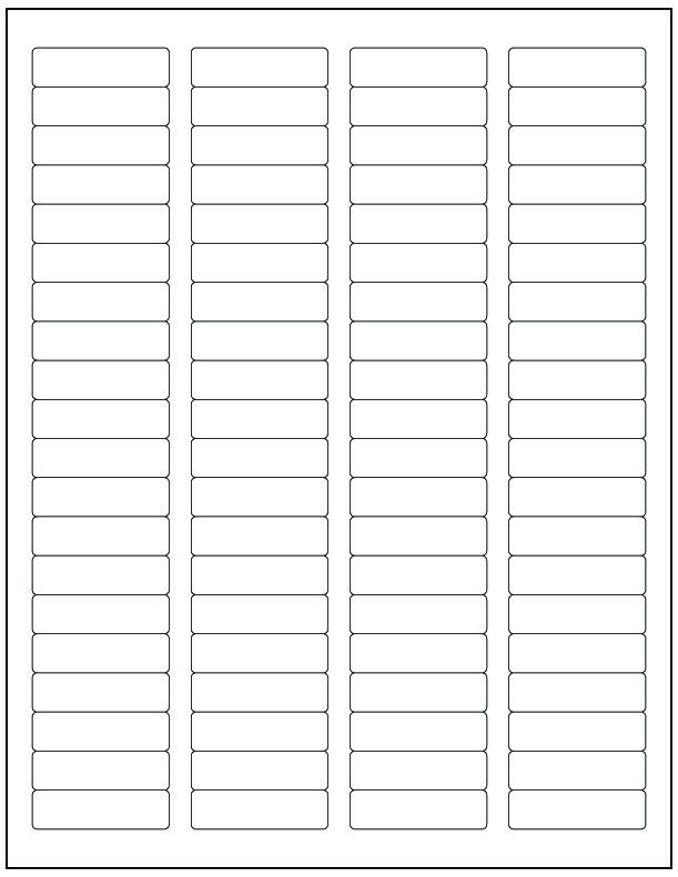 microsoft office labels template