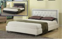 White Single bed Queen & Cal King size Headboard w ...