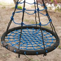 Swing Seat Round Swing Nest Child Toy Outdoor Hammock ...