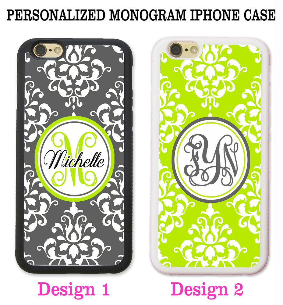 monogram iphone 5s case