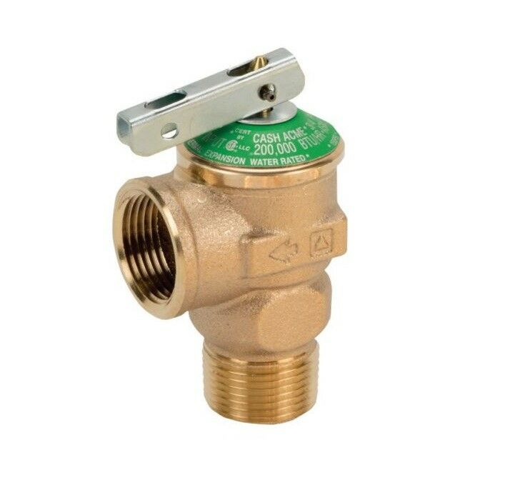 3 4quot Lead Free Pressure Relief Valve Perfect For Tankless
