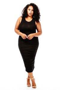 Womens Ladies Plus Size Curvy Fabuluos Dresses FREE ...