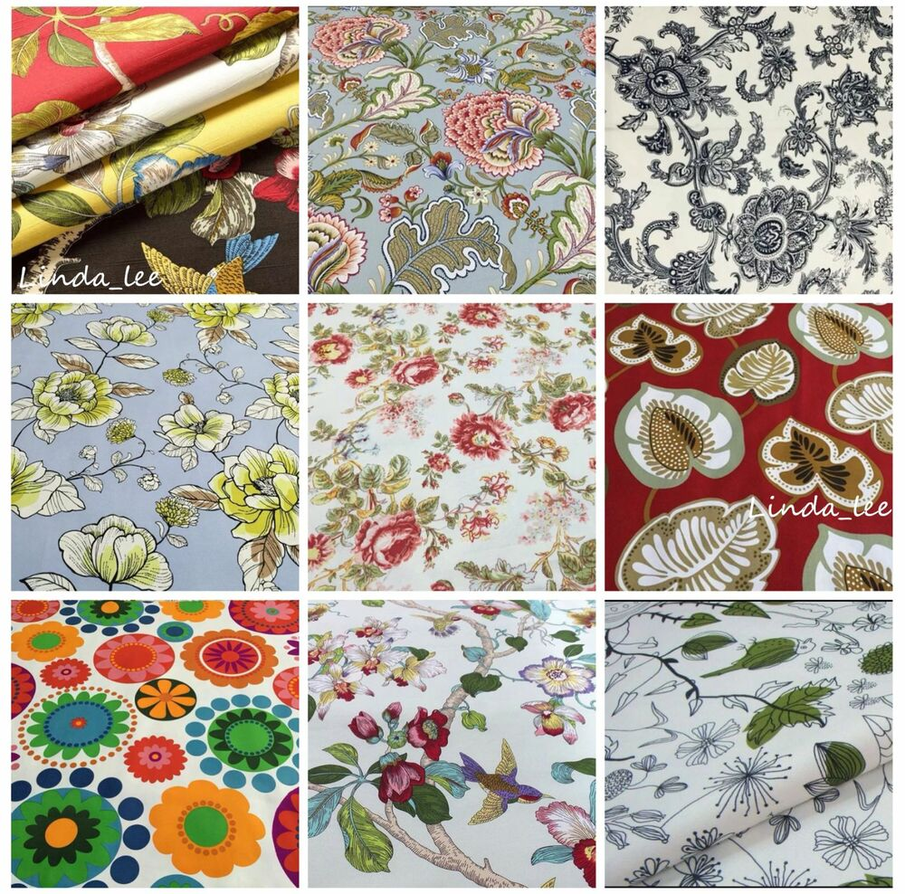 Sofa Fabric Samples Patterned Cotton Fabrics Samples For Custom Made Sofa Covers And