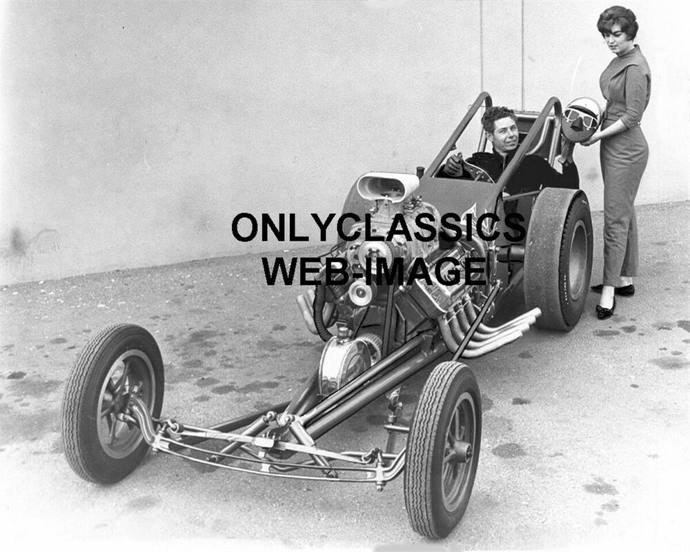 Cars Schrank 1961 Schrank Bros Slingshot Dragster Auto Drag Racing Hot Rod