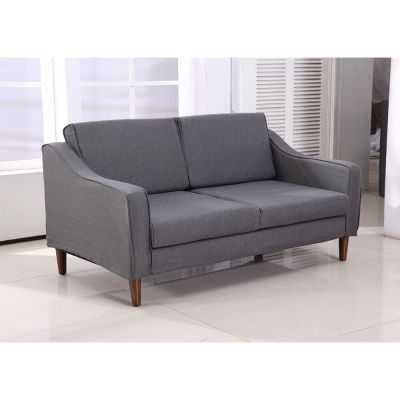 HOMCOM Sofa Chaise Lounger Living Room Couch Lounge Dorm Chair Modern Furniture | eBay