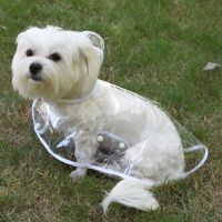 Dog Raincoat Transparent Rain Coat for Dog Clothes Puppy ...