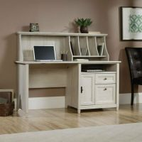 Computer Desk Home Office Workstation Table with Hutch in