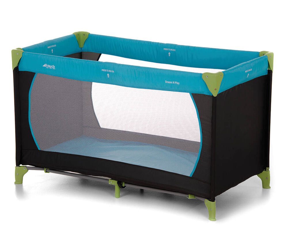 Baby Playpen Ebay Uk New Hauck Water Blue Dream N Play Baby Travel Cot