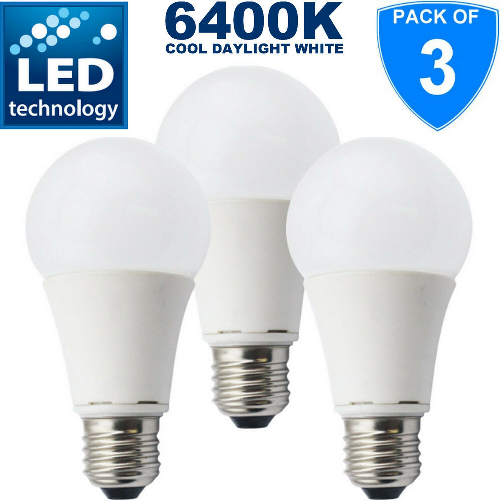 Ampoule Led à Vis 12w E27 Led Edison Screw Standard Shape Bulb Gls 75w Replacement Cool White 865 Ebay